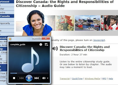 Free Download: Discover Canada: the Rights and Responsibilities of Citizenship – Audio Guide