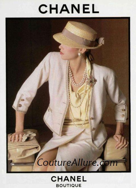 Couture Allure Vintage Fashion: Vintage Chanel