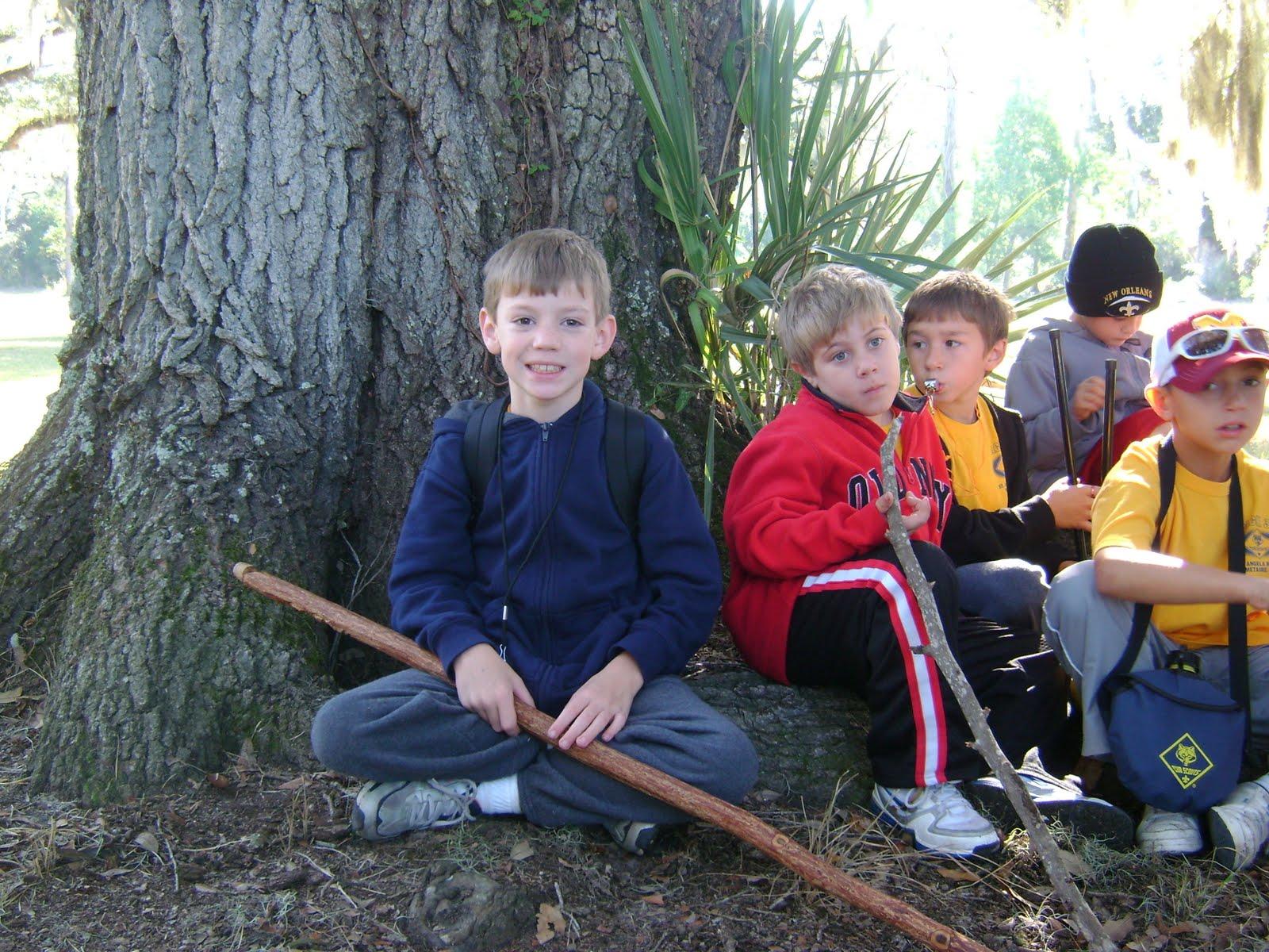 Cub Scout Camping