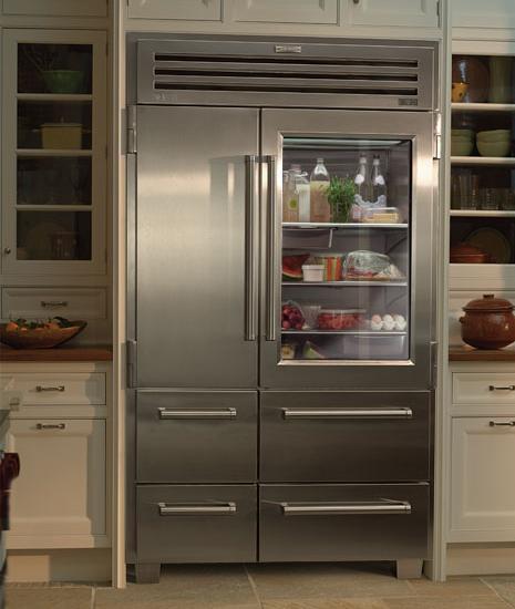 Vignette design glass door refrigerators - Glass door refrigerator freezer ...
