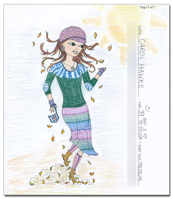 carol winner - Winner #2 of the Soul Flower Coloring Contest