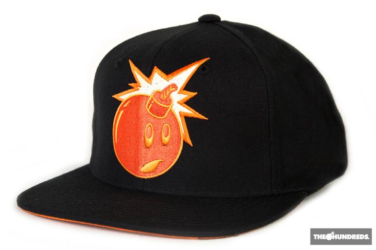 The Hundreds x Garfield Snapback Hats  ca2ac4b9dbad