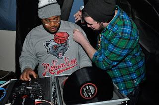 0e139d29d9fae Spotted  Dj Clockwork in our Distressed Mascot Crewneck Sweatshirt ...
