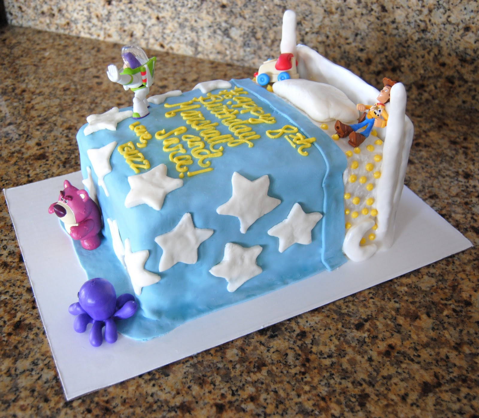 Baked By Ash Toy Story Cake