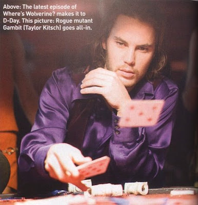 Taylor Kitsch is Gambit - Wolverine Movie