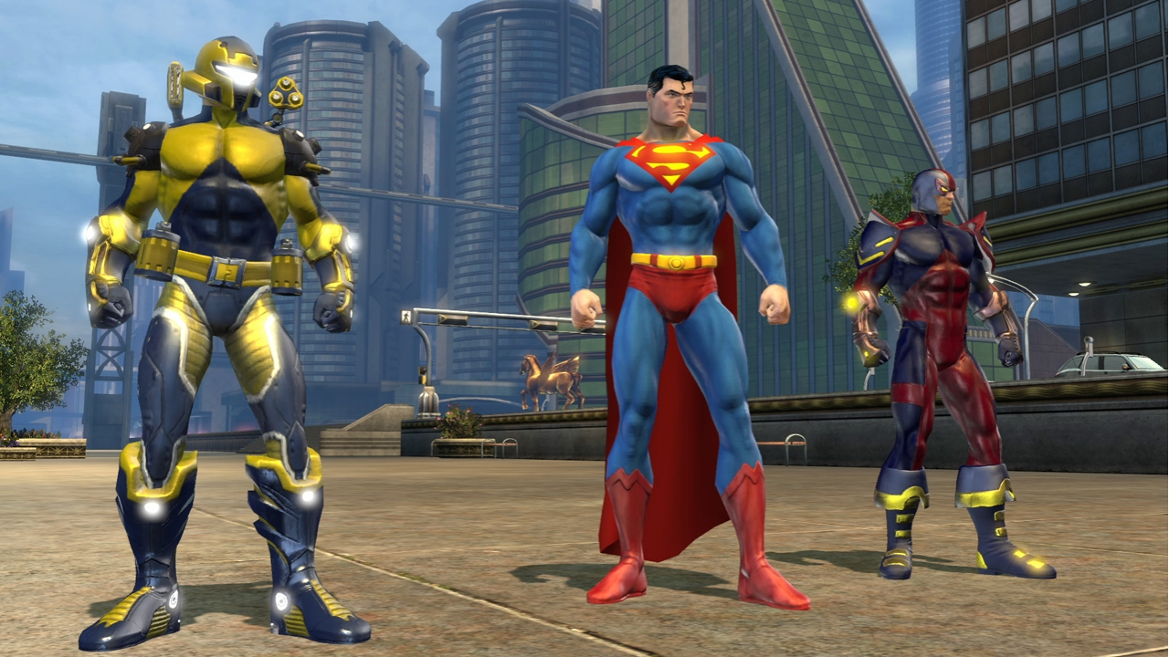 superhero mmo game