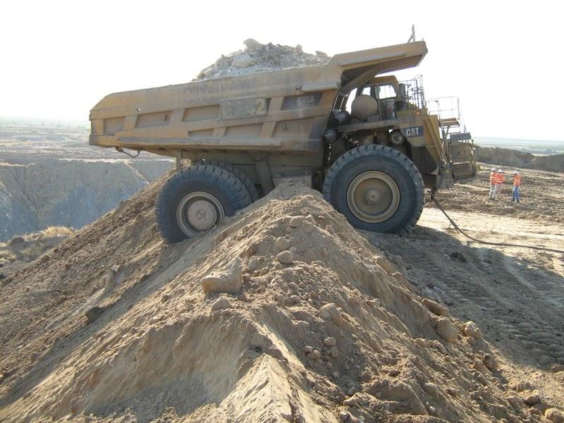 Mining Mayhem Rear Dumper On Rill