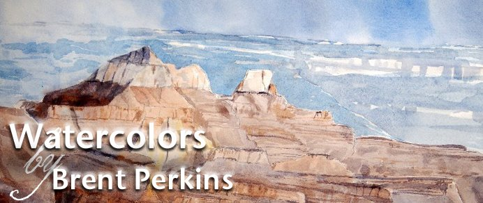 Watercolors by Brent Perkins