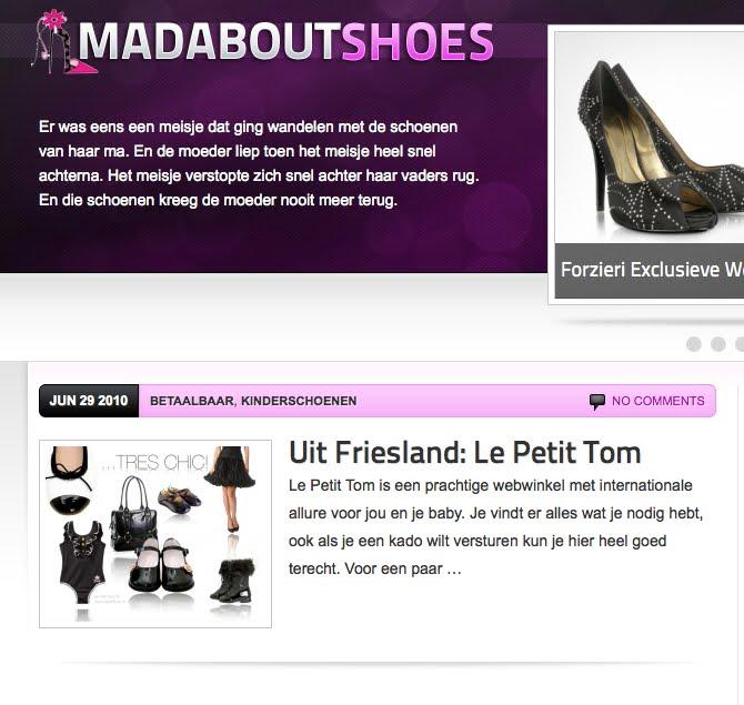 Webwinkel Kinderschoenen.Le Petit Tom Op Schoenen Blog Mad About Shoes Nl Le Petit Tom Is