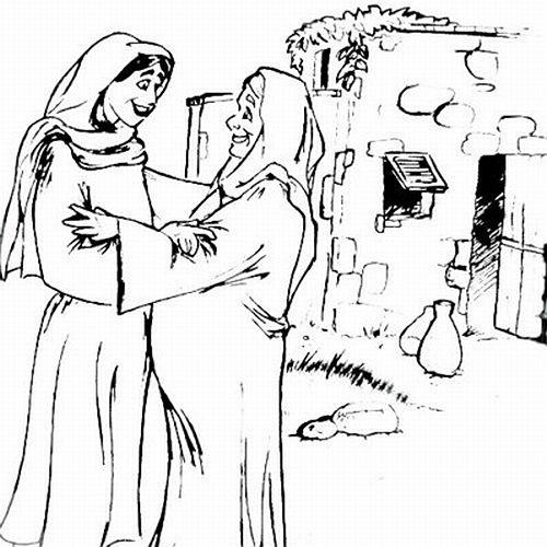 O PRIMO DE JESUS - JOÃO BATISTA! José/Maria e Zacarias e Isabel ...