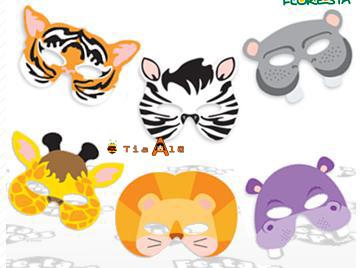 Máscaras De Animaisbichos Eva Modelos E Moldes Blog Da