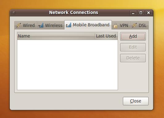 PC1MH techlog: Huawei E180 HSPA dongle on Ubuntu 9 10