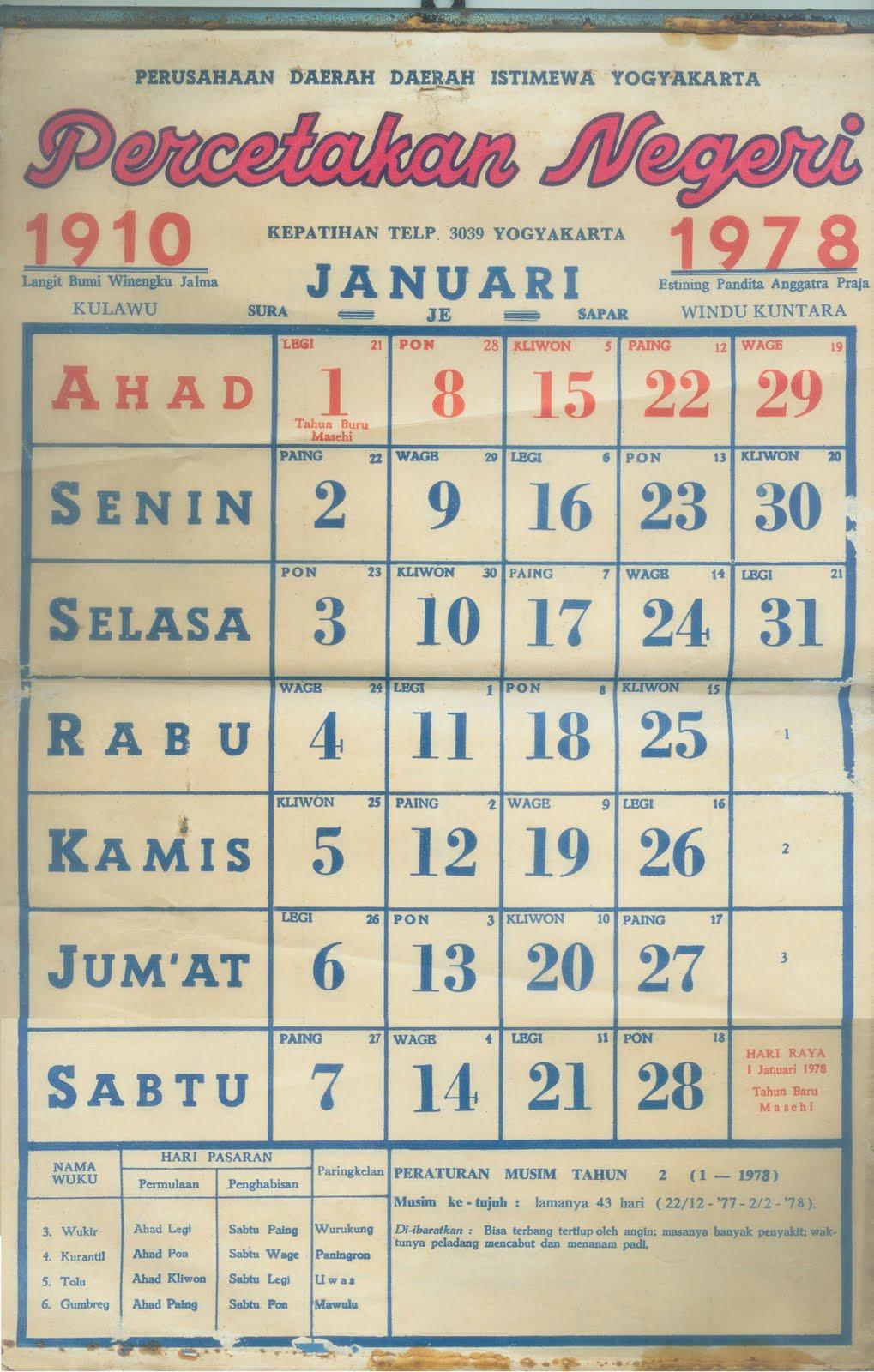 71 Tren Gaya Gambar Kalender Tahun 1977 Desain Kalender Sedangkan akhir tahun 1977 (masehi) bertepatan dengan tanggal 19 muharram 1398 (hijriyah), 20 sura 1910 (jawa), 14s margasira 1913 (candra), dan 10 kasa 1900 (surya). tren gaya gambar kalender tahun 1977