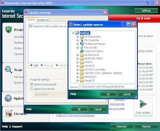 Kaspersky Internet Security and Antivirus offline update 2