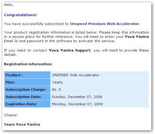 2 - Free ONSPEED Web Accelerator One Year Premium Subscription worth $49