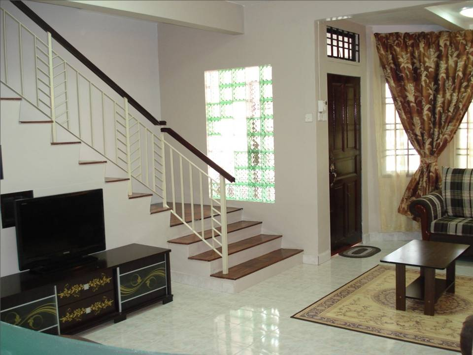 Ruang Tamu Rumah Teres 2 Tingkat Desainrumahid
