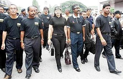 Sebahagian pemimpin Pakatan Rakyat Perak
