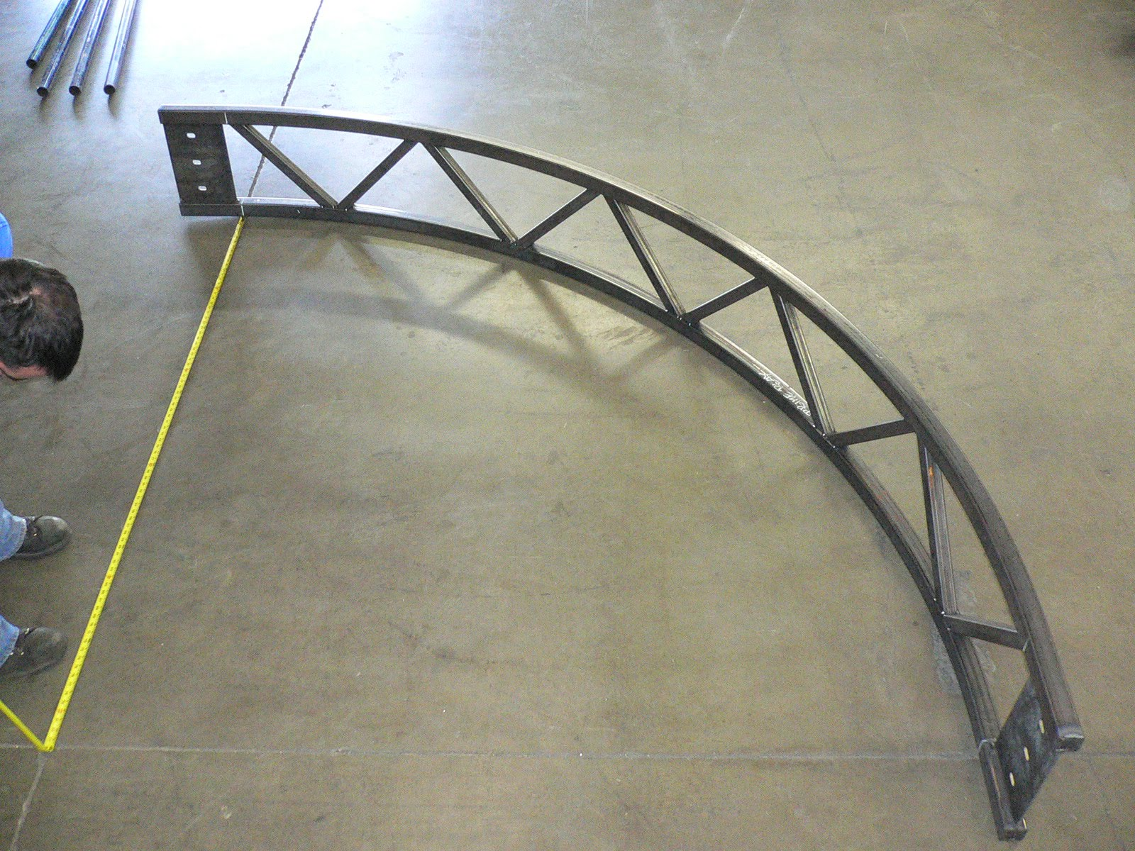 J1 Metal Fabrication Curved Truss