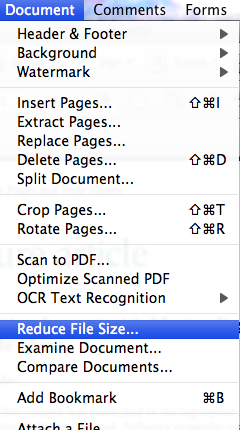 How to reduce pdf size in adobe acrobat