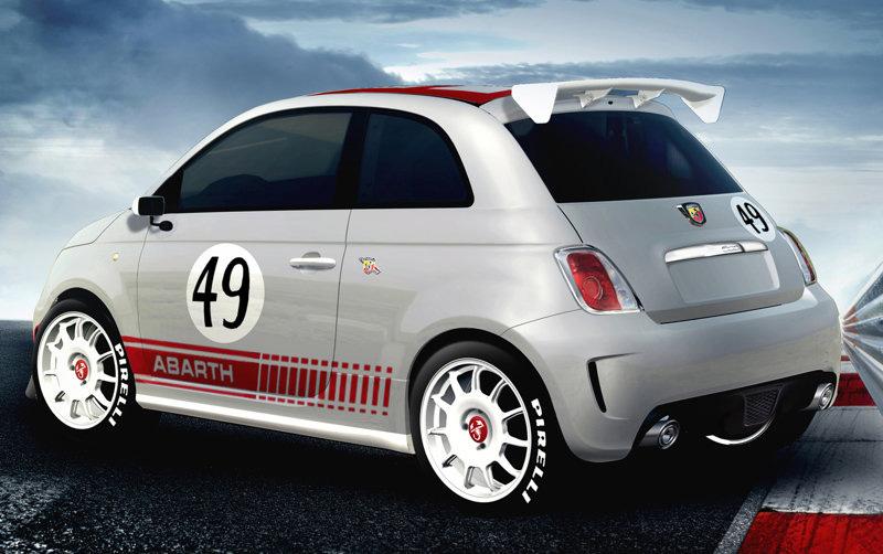 fiat 500 abarth assetto corse 2009 car automotive design. Black Bedroom Furniture Sets. Home Design Ideas