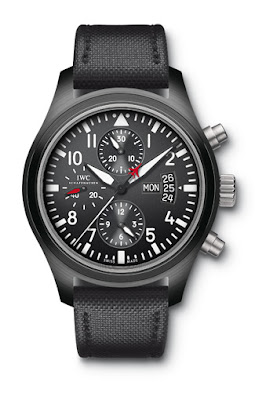IWC montre d'aviateur Chronographe Top Gun
