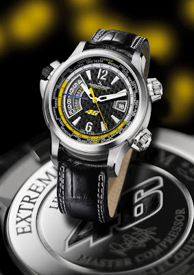 j 39 aime les montres la montre du jour jaeger lecoultre master compressor 46 valentino rossi. Black Bedroom Furniture Sets. Home Design Ideas