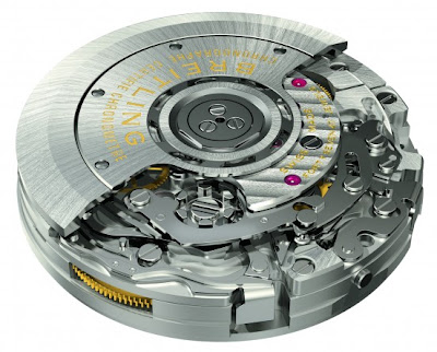 Mouvement Manufacture Breitling B01 Chronographe