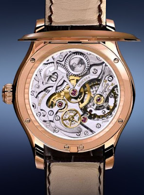 Mouvement Minerva Montre Montblanc collection Villeret 1858