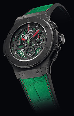 Montre Hublot Aero Bang fédération mexicaine de football