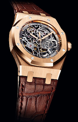 Montre Audemars Piguet Royal Oak Squelette référence 15305OR.O0.D088CR.01