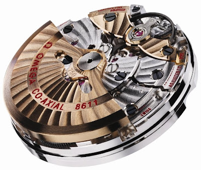 calibre Omega 8611 Co-Axial