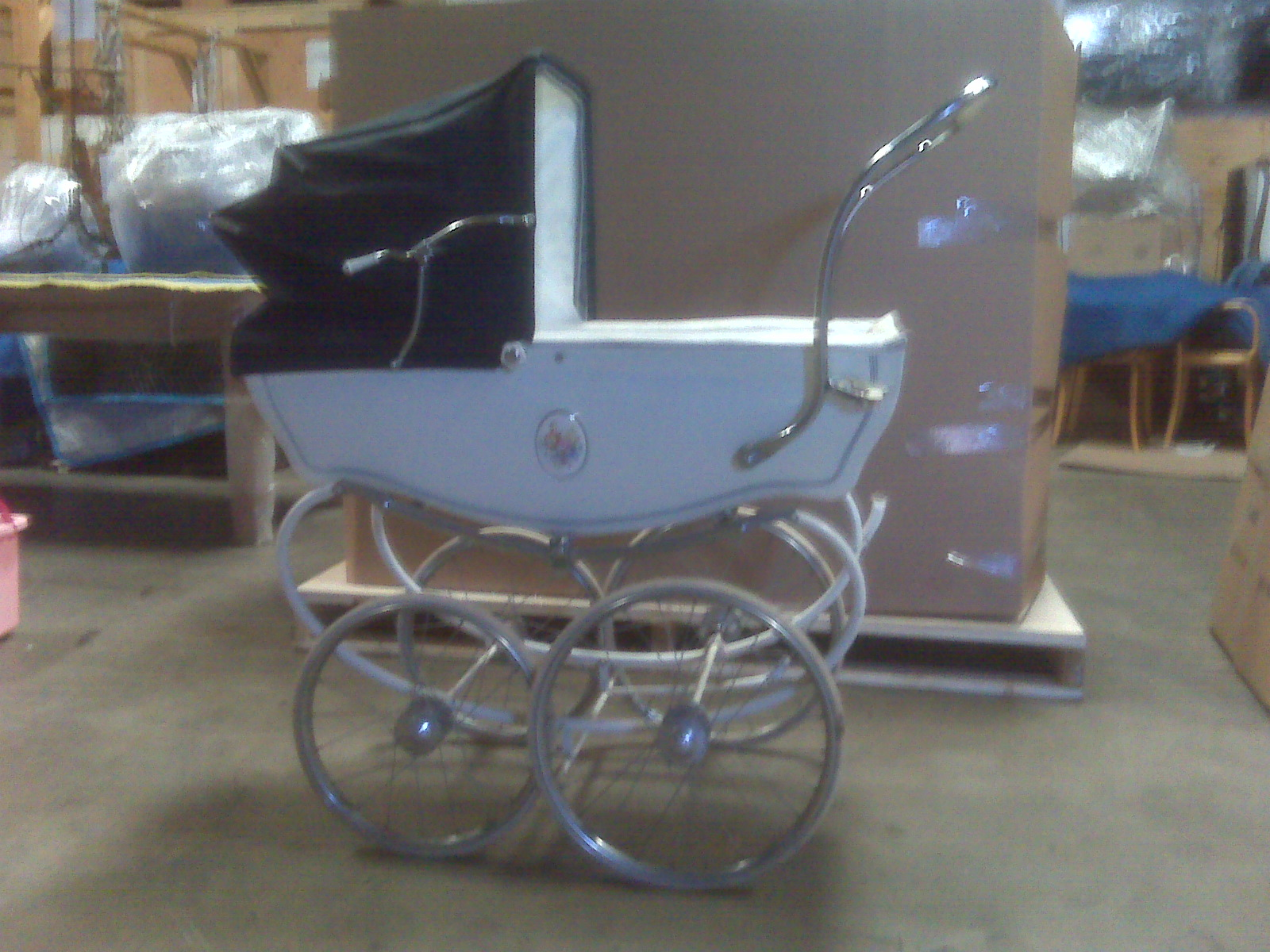 Box Brothers Corp Vintage Baby Carriage Shipping To Canada