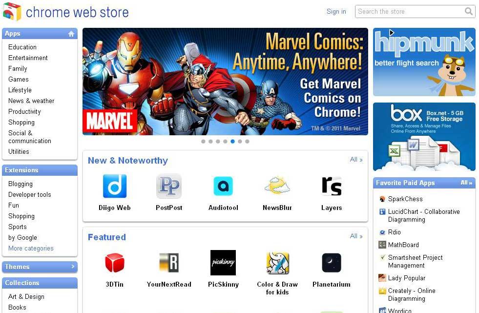 Google Chrome Web Store Live – RealTimeTricks
