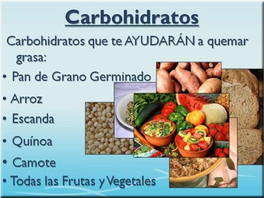 que carbohidratos no debo comer para adelgazar