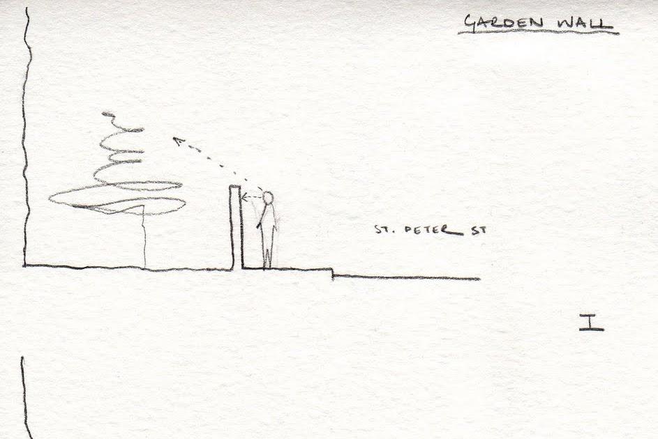 it is what it is: garden wall
