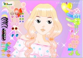 Juegos De Vestir Maquillar Y Peluqueria