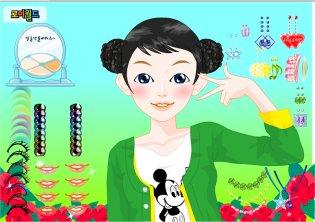 Juegos De Vestir Maquillar Y Peluqueria Peinar Vestir Y