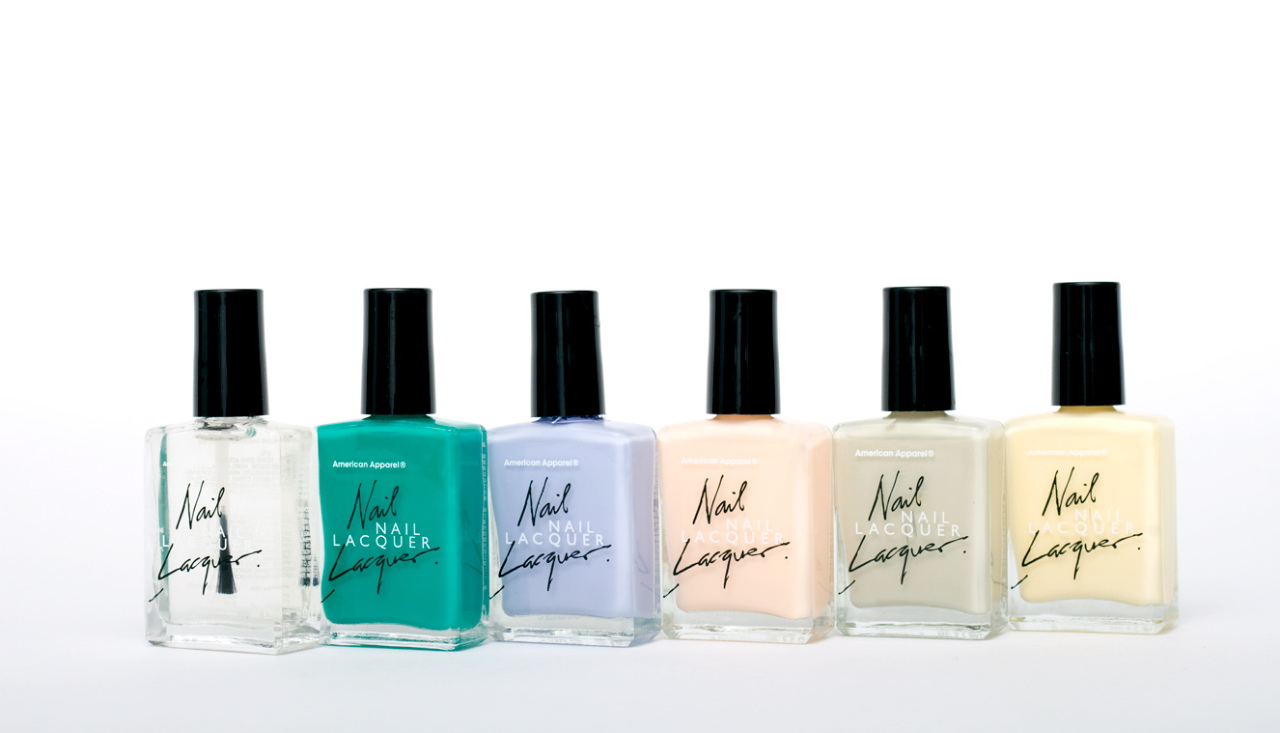 Nail Fashion American Apparel Extends Nail Polish Line