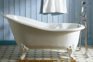 Actualité Déco, Maison, Cuisine: Une baignoire rétro comme ...