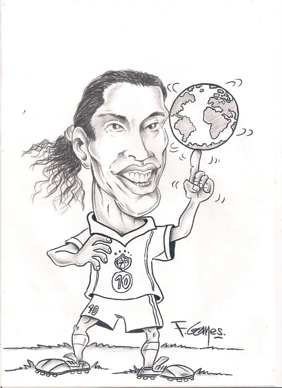 Ronaldinho Coloring Pages Coloring Pages