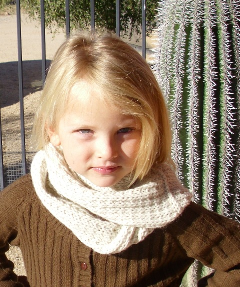 Louise Knits Easy Scarf Or Cowl Pattern For Adults Or Children