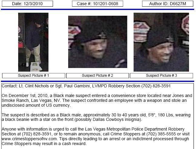 Crime Tracker 3 KSNV: 2010