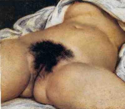 A Origem do Mundo, de Courbet