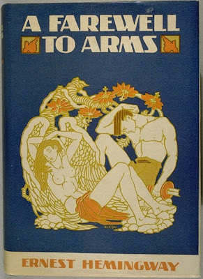 Farewell to Arms by Ernest Hemingway book cover