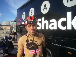 Equipo de ciclismo RadioShak entrenando en diciembre 2010 en Calpe, Mario Schumacher Blog
