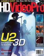 U2 3D en HDVideoPro magazine