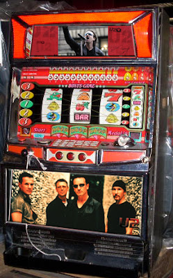 maquina tragaperras de U2