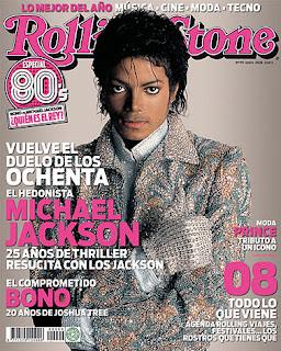 Bono vs Michael Jackson en Rolling stone