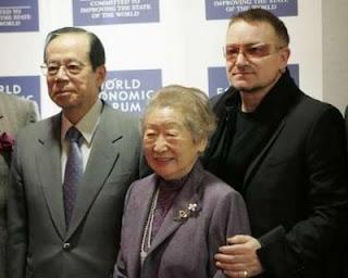 Bono, Yasuo Fukuda, Sadako Ogata