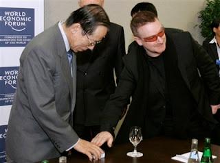 Bono, Yasuo Fukuda